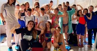 """Πολύ καλή η παρουσία του Νηρέα στους κολυμβητικούς αγώνες """"ΝΑΟΥΣΑ 2019"""""""