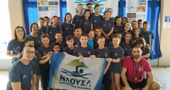 """22 ομάδες και 500 αθλητές τίμησαν τους κολυμβητικούς αγώνες """"ΝΑΟΥΣΑ 2019"""""""