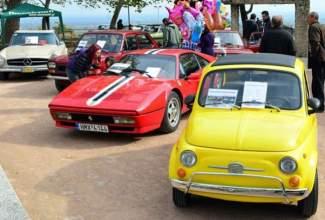 Εντυπωσιακό θέαμα με αυτοκίνητα - αντίκες στη Βέροια (φωτο)
