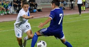 Ελλάδα - Καζακστάν 3-2: Νίκη για την Εθνική Γυναικών με σόου Σπυριδωνίδου
