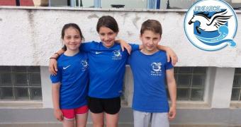 Με μετάλλια και διακρίσεις η προαγωνιστική ομάδα του ΠΗΓΑΣΟΥ στον «Λευκό Πύργο»