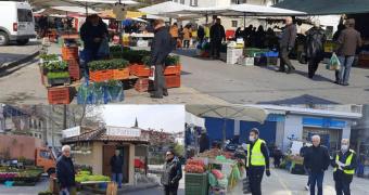 Πώς κινήθηκε σήμερα η λαϊκή αγορά της Βέροιας (φωτο)