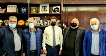 Συνάντηση Αυγενάκη με την επιτροπή των ομάδων της Γ' Εθνικής