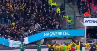 Σοκ στην Ολλανδία - Υποχώρησε κερκίδα την ώρα του Ναϊμέγκεν-Φίτεσε (video)
